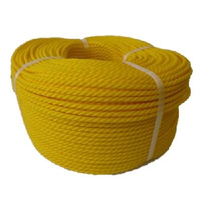 ポリエチレンロープ 黄色 径20mm 長さ200メートル巻き
