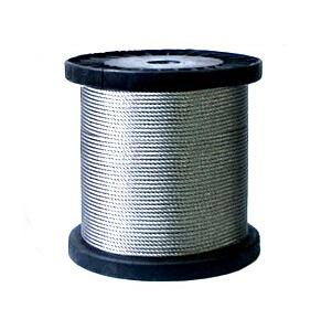 ステンレスワイヤロープ 7×19 径9mm 長さ100m
