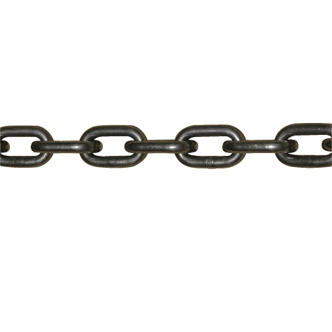 長鎖環チェーン アプセット クロ 11mm (定尺30m)