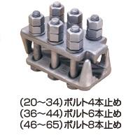 ニッサククリップM形 クロ 適合ワイヤ径46mm