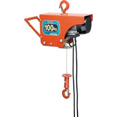 スリーエッチ 電気ホイスト 100kg 揚程10m