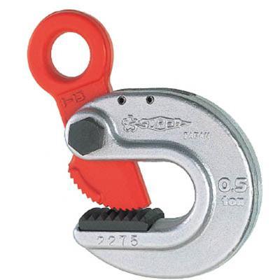 スーパーツール 形鋼クランプ(D1:23mm) 使用荷重0.5ton