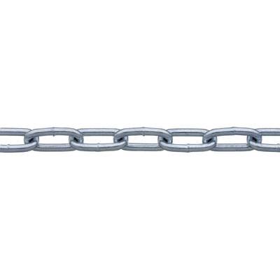 ニッサチェイン 鉄ユニクロ溶接リンクチェイン 5.5mmx30m