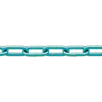 ニッサチェイン 鉄ユニクロ溶接リンクチェイン 6.5mmX30m