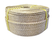 染サイザル麻ロープ 直径45mm 長さ30メートル巻き