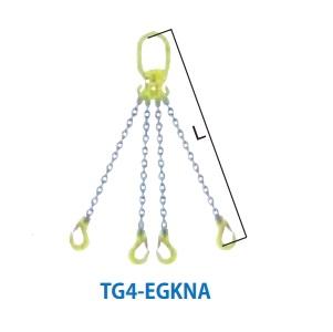 マーテック チェーンスリング 4本吊りセット 全長1.5m 6.7~8.3ton