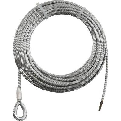 国内JISワイヤ6X37G/O 片コースロック片切 径6mm 長さ35m