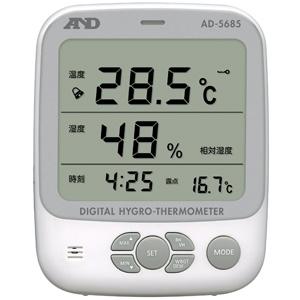A&D 環境温湿度計(露点測定機能つき) AD-5685