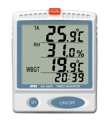 A&D (エー・アンド・デイ) 熱中症指数モニター AD-5693