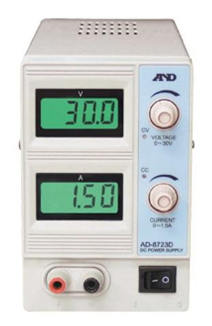 【P10倍】 A&D (エー・アンド・デイ) 直流安定化電源 AD-8723D