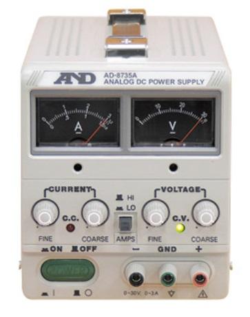 A&D (エー・アンド・デイ) 直流安定化電源 AD-8735A