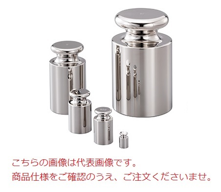 【直送品】 A&D OIML型校正用分銅 (F2級) AD1603-2F2 (円筒型鏡面仕上げ)