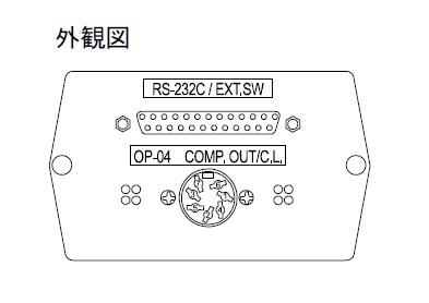 【直送品】 A&D コンパレーター出力/RS-232C/カレントループ GX-04K