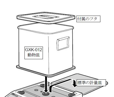 A&D 動物計量皿(外寸208×260×228mm) GXK-012