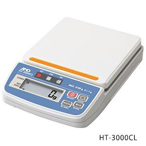 【P10倍】 【直送品】 A&D (エー・アンド・デイ) コンパレータライト付きデジタルはかり HT-3000CL (HT3000CL-JA)