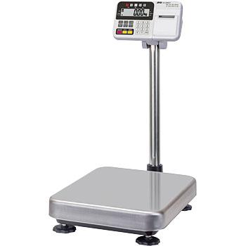【直送品】 A&D (エー・アンド・デイ) 防塵・防水デジタル台はかり HV-200KCP (内蔵プリンタ付)