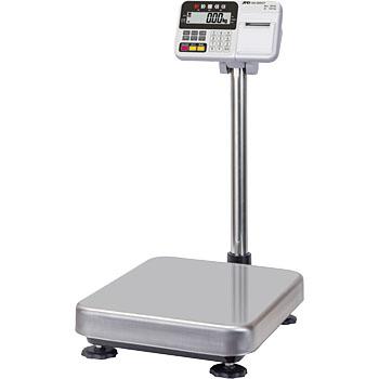 【直送品】 A&D (エー・アンド・デイ) 防塵・防水デジタル台はかり HW-100KCP (内蔵プリンタ付)