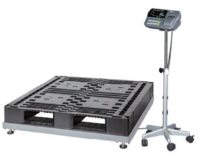 【直送品】 A&D (エー・アンド・デイ) 検定付きはかり 低床タイプデジタル台はかり SN-1200KL-K (SN1200KL-K)