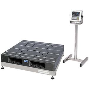 【P5倍】 【直送品】 A&D (エー・アンド・デイ) 検定付きはかり 防塵・防水パレット一体型デジタル台はかり SN-1200KWP-K