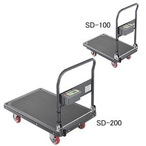 肌触りがいい SD-200:道具屋さん店 (エー・アンド・デイ) A&D カートスケール 【直送品】-DIY・工具
