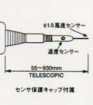 【直送品】 アイ電子技研 アネモフローメーター(プローブ単品) S-512