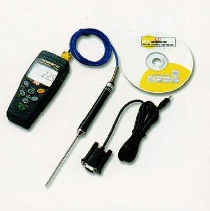 【直送品】 アイ電子技研 K(J・T・E)熱電対デジタル温度計(本体) TS-004