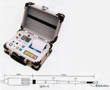 【直送品】 アイ電子技研 広温度域熱式風速・温度計 V-02-ADPN500(a)プローブセット (V-02-ADPN500-a)