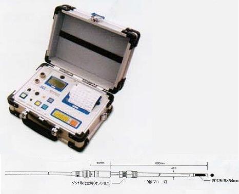 【直送品】 アイ電子技研 広温度域熱式風速・温度計 V-02-ADPN500(b)プローブセット (V-02-ADPN500-b)