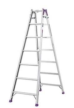 お歳暮 工場 倉庫の効率化に最適な組立式作業台 直送品 アルインコ はしご兼用脚立 大型 法人向け MR-210W 本店 個人宅配送不可