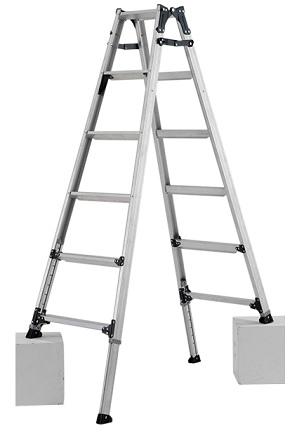 【代引不可】 アルインコ 伸縮脚立はしご兼用脚立 PRW-180FX 【特価】 【大型】