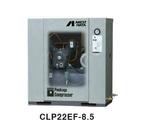 【直送品】 アネスト岩田 コンプレッサ レシプロ:給油式 CLP22EF-8.5 200V 50Hz (CLP22EF-8.5M5) オイル式パッケージ【特価】 【大型】