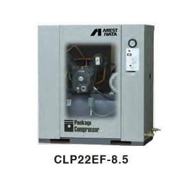 【直送品】 アネスト岩田 コンプレッサ レシプロ:給油式 CLP22EF-8.5 200V 60Hz (CLP22EF-8.5M6) オイル式パッケージ【特価】 【大型】
