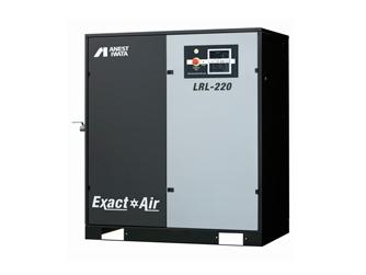 【代引不可】 アネスト岩田 コンプレッサ スクリュー:給油式 LRL-220-M6 (200/220V 60Hz) 給油式スクリューコンプレッサ 【大型】