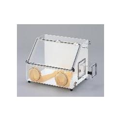 アズワン グローブボックス AS-800PC(コンセント付) (1-9046-02) 《実験設備・保管》