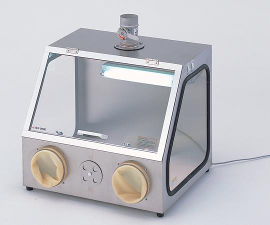 アズワン パソリナグローブボックス AS-600SC(コンセント付) (3-4041-03) 《実験設備・保管》