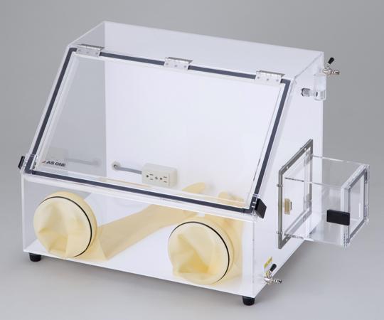 アズワン グローブボックス AS-600PC(コンセント付) (3-4045-13) 《グローブボックス》