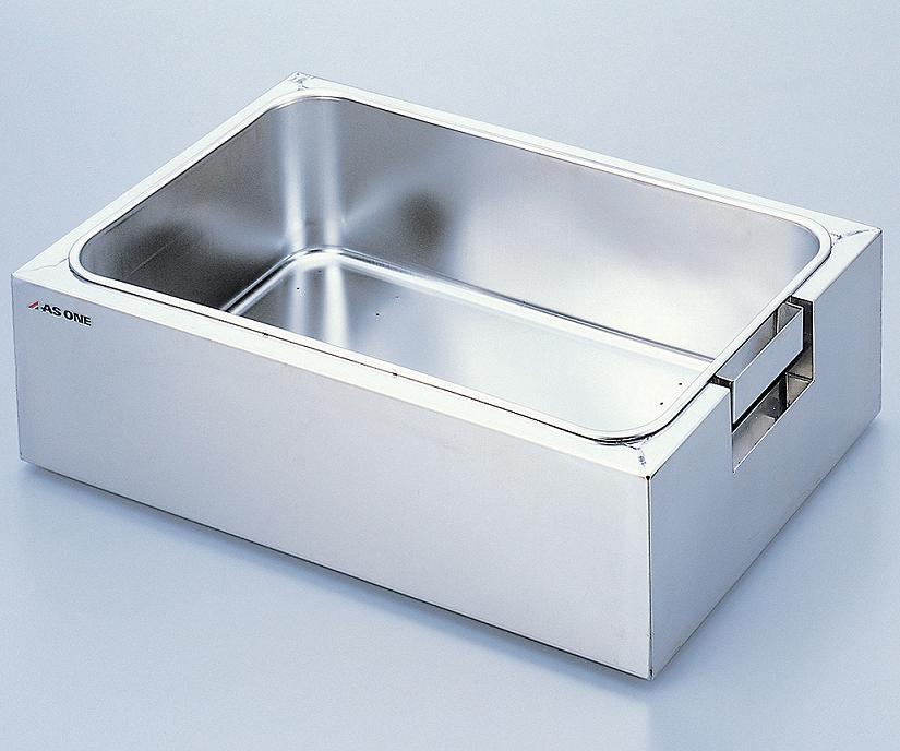 アズワン ステンレス水槽(カバー付き) HSS-02 (1-7549-02) 《研究・実験用機器》