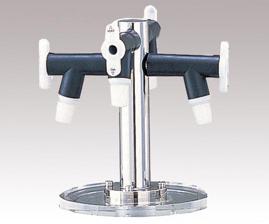 アズワン 凍結乾燥器用のフラスコ・瓶用多岐管 PMH-4AAS (2-8102-11) 《研究・実験用機器》