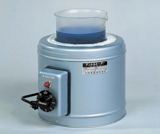 アズワン マントルヒーター(ビーカー用・入力調節器付) GBR-20 (1-164-04) 《研究・実験用機器》
