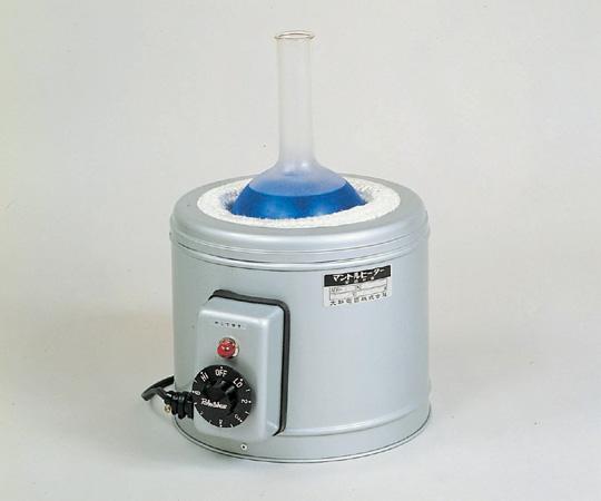 アズワン マントルヒーター(フラスコ用・入力調節器付) AFR-100 (1-167-07) 《研究・実験用機器》