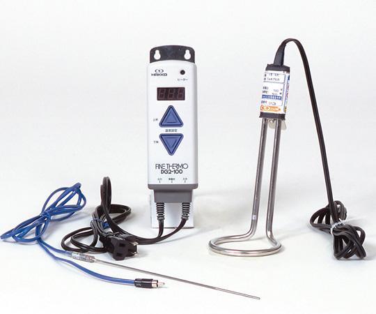 アズワン ステンレスパイプヒーター(A型水用・温度コントローラーセット) SWS1510 (1-8691-03) 《研究・実験用機器》