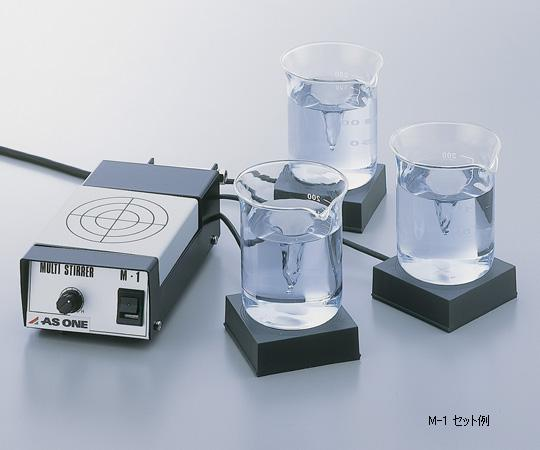 アズワン マルチスターラー コントローラー本体 1-244-01 《研究・実験用機器》