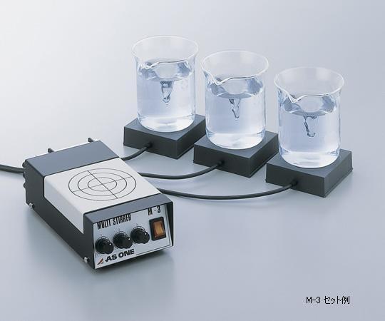 アズワン マルチスターラー コントローラー本体 1-244-02 《研究・実験用機器》