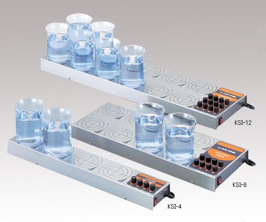 アズワン スリムスターラー KSI-12 (1-4239-03) 《研究・実験用機器》