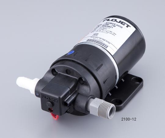 アズワン 2ピストンダイアフラム小型圧力ポンプ 2100-12 (1-1503-01) 《研究・実験用機器》