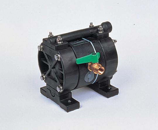 アズワン ダイヤフラムポンプ 1-656-04 《研究・実験用機器》
