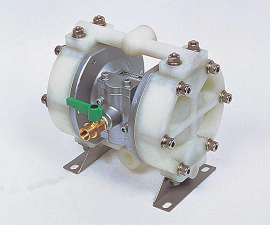 アズワン ダイヤフラムポンプ 6-8124-01 《研究・実験用機器》
