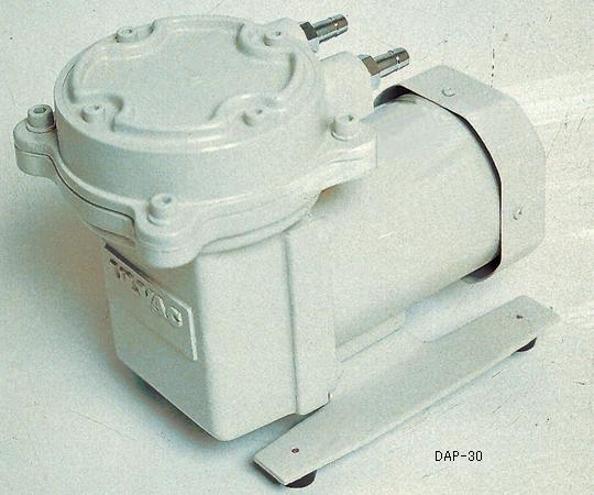 アズワン ドライ真空ポンプ(加圧減圧両用ダイアフラム型) 1-671-17 《研究・実験用機器》