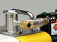 アズワン 直結型油回転真空ポンプ(ラムダ) ラムダ用自動リーク弁 1-8787-16 《研究・実験用機器》