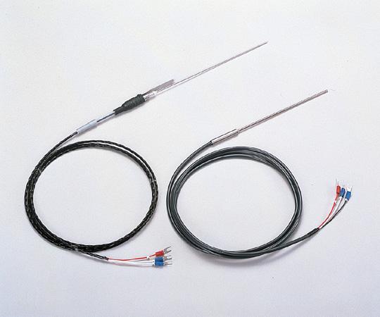 アズワン 測温抵抗体(シース型・テフロン被覆) 1-5721-01 《計測・測定・検査》